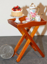 1 Set Dollhouse Miniature Tea Side Table 1:12 inch scale - DL - $104.00