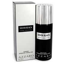 Silver Black By Azzaro Deodorant Spray 5.1 Oz For Men - $32.93