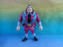 Vintage 1995 BK Disney Mattel Pocahontas Villain Governor Ratcliffe Figure  - $4.90