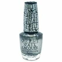OPI Shatter Nail Lacquer Nail Polish, Silver Shatter - $8.59