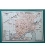 SPAIN Cordoba City Town Plan - 1911 MAP - $30.60
