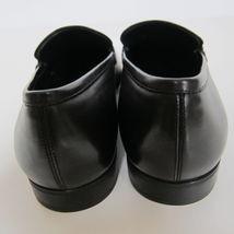 New Loafesr Black Leather 449275 Ferragamo Size US 8 Francisco Salvatore W 46Fwqx5