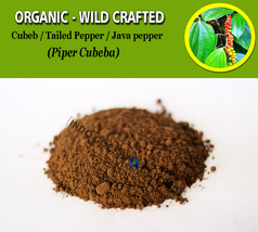 POWDER Cubeb Tailed Pepper Java Pepper Piper Cubeba Organic Wild Crafted... - $17.99+
