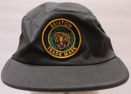 Brixton Trademark Tiger Patch Gray Military Style Snapback Hat Cadet Sol... - $36.52