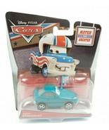 Disney Pixar Cars Mater The Greater Bucky Brakedust 2014 Mattel Teal Toy Car  - $6.83