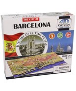 4D Cityscape Barcelona, Spain Time Puzzle - $39.99
