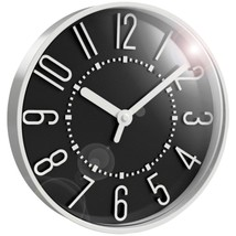 Westclox 33215BK 10-Inch Black Wall Clock - $24.18