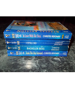 Silhouette Christie Ridgway lot of 4 contemporary romance paperbacks - $4.99