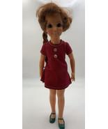 Vintage 1968 1972 Ideal Crissy Grow Hair Doll Twist Dress Shoes Hong Kon... - $66.45