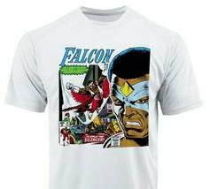 The Falcon Dri Fit graphic T-shirt microfiber UPF +50 retro superhero Sun Shirt image 1