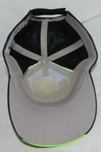 Augusta Sportswear Adult Black And Lime Green Sports Hat image 7