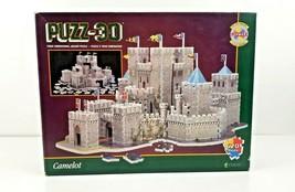 PUZZ 3D CAMELOT Jigsaw Puzzle 3 Dimensional 620 Pieces Wrebbit 1995 NEW ... - $29.99