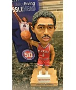 PHILADELPHIA 76ers Sixers  DR. J JULIUS ERVING BOBBLEHEAD #6 3/16/13 50 ... - $49.97
