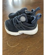 Nike Toddler Stretch Slip-On Shoe Navy Blue Size 7 EUC - $19.79
