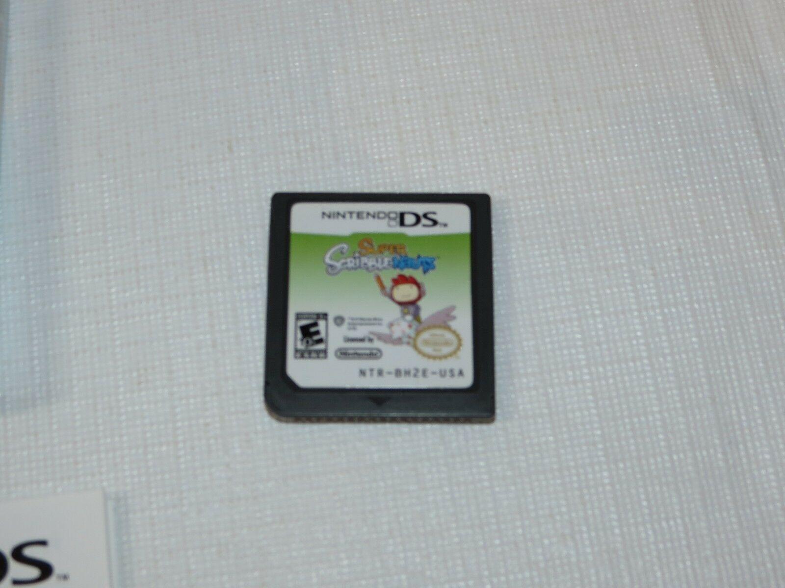 Super Scribblenauts Nintendo DS 2010 E10 +Everyone 10+NTR-BH2E-USA D'Occasion image 5