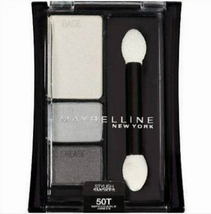 Maybelline Eye Shadow Trio Impeccable Greys Expert Wear smoky gray full ... - $11.99