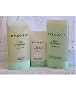 Bulgari Au The Vert Green Tea Shampoo, Bath and Shower Gel & Face Lotion... - $20.98