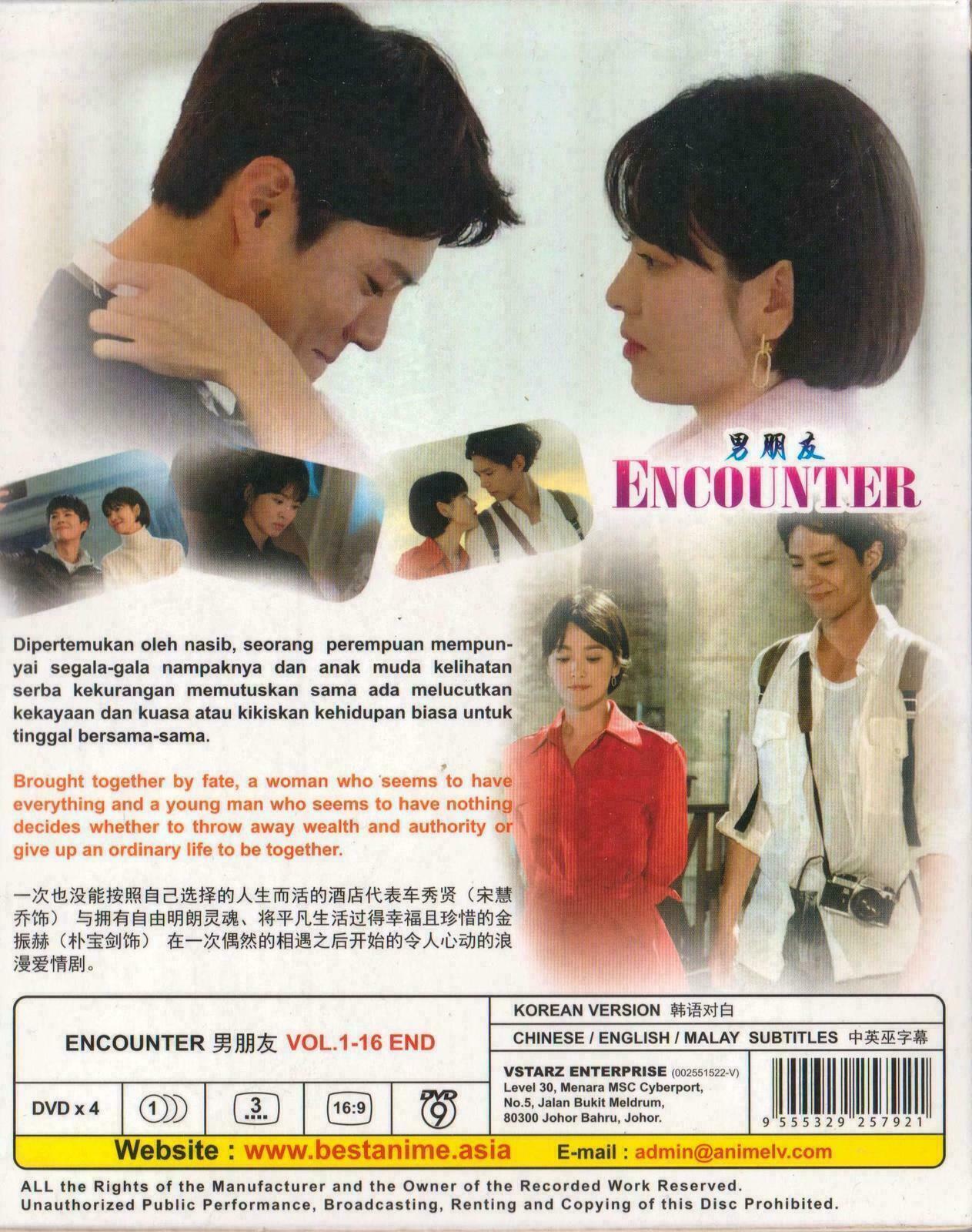 Korean Drama Encounter Dvd -English Subtitle Ship From USA