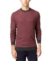 Club Room Mens Geo Jacquard Pullover Sweater Ebony Heather Size Small -$... - €17,12 EUR