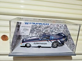Corgi Race Image Tom Hoover Pioneer Funny Car New Mint In New Plexiglas Case - $23.75