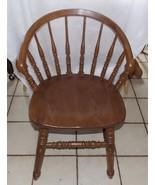 Solid Oak Desk Chair / Sidechair by Richardson - $299.00