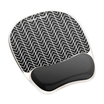 Fellowes 9653401 mouse pad Black, White - $40.14