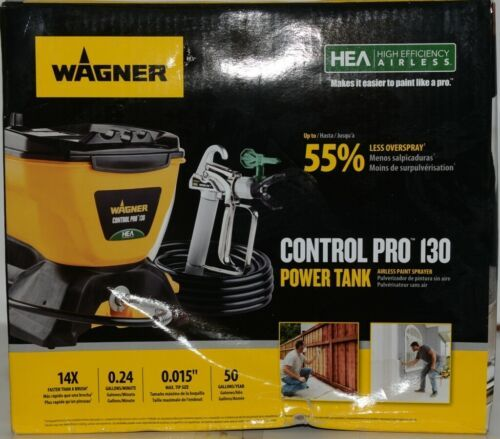 Wagner 0580678 Control Pro 130 Power Tank Airless Paint Sprayer New in Box