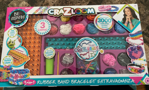 Primary image for Cra-Z-Art Cra-Z-Loom 3 in 1 Rubber Band Bracelet Extravaganza
