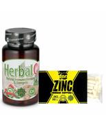 30 Caps TEN Zinc Citrate Box | Immune | Herbal C | Vitamin C | Ginger Root - $36.62