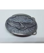 Vintage Siskiyou Flying American Bald Eagle 1988 Belt Buckle W-50 - $12.99