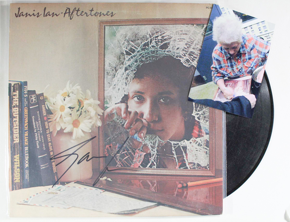 Primary image for Janis Ian Signed Autographed Record Album w/ Proof Photo