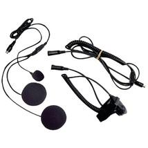 Midland AVPH2 2-Way Radio Accessory (Closed-Face Helmet Headset Speaker/... - $58.25