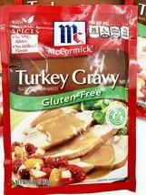 4 Mc Cormick Gluten Free Turkey Gravy Mix Spices 0.88 Oz Best By 11/21 Free Ship - $21.04