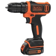 Black & Decker 12v Max* Cordless Lithium Drill And Driver BDKBDCDD12C - $70.62