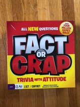 Fact Or Crap Board Game ! Free Shipping - $16.83