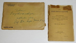 Sigmund Freud Limited 1st edition book(1910) signed autograph owner - ma... - $569.25
