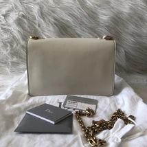 100% Authentic NEW Christian Dior J'ADIOR Calfskin Flap Bag White  image 3