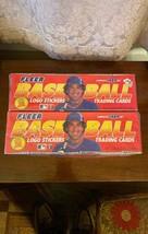 2 SEALED 1989 Fleer Complete Sets of Baseball (660) Cards and (45) logo ... - $49.95