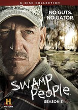 Swamp People 3rd Third Complete 3 Three DVD Set Collection Series TV His... - $35.63