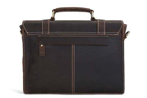 Sale, Vintage Leather Briefcase, Messenger Bag, Satchel Bag, Crossbody Bag image 3