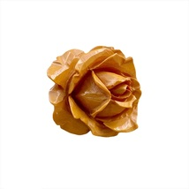 Carved Bakelite Rose Pin | jewelrybubble - $47.00