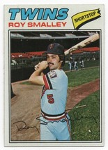 1977 Topps #66 Roy Smalley Twins VG - $1.25