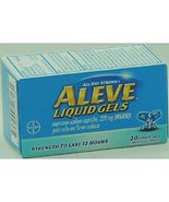 Product Of Aleve, Liquid Gels, Count 1 - Headache/Pain Relief / Grab Var... - $14.19