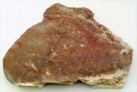 Brown Jasper 2 Gemstone Slab Cabbing Rough - $4.60