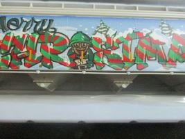 Atlas # 20006330 (Christmas Graffiti) 5800 Plastics Hopper DOWX 66122 HO-Scale image 4