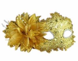 PANDA SUPERSTORE Bradde Chain Lilies Mask Halloween Party Mask Masquerade Mask(G