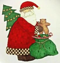Sakura Debbie Mumm Magic of Santa Platter Chop Plate Christmas Stoneware... - $18.70