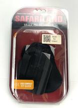 Safariland 578, GLS Pro-Fit, Sub Compact , Paddle & Belt Black - New - $44.45
