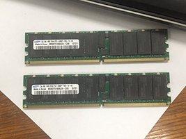 8GB (2X 4GB) Samsung PC2-5300P DDR2-667 Server Memory RAM ECC REG M393T5166AZA-C