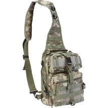 Small Digital Camo Sling Backpack Day Pack Hiking Hunting Military Tacti... - $33.99
